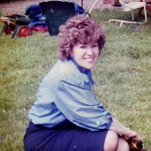 My Mom, Karen, in the mid-late 1980s, Medina, Ohio