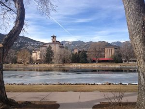 Writing for the Soul 2013 was at The Broadmoor Hotel, a five-star hotel nestled at the foot of the Rocky Mountains. Everything about the conference is first-rate, from speakers to lodging to networking opportunities. Photo by Amy Faircloth.